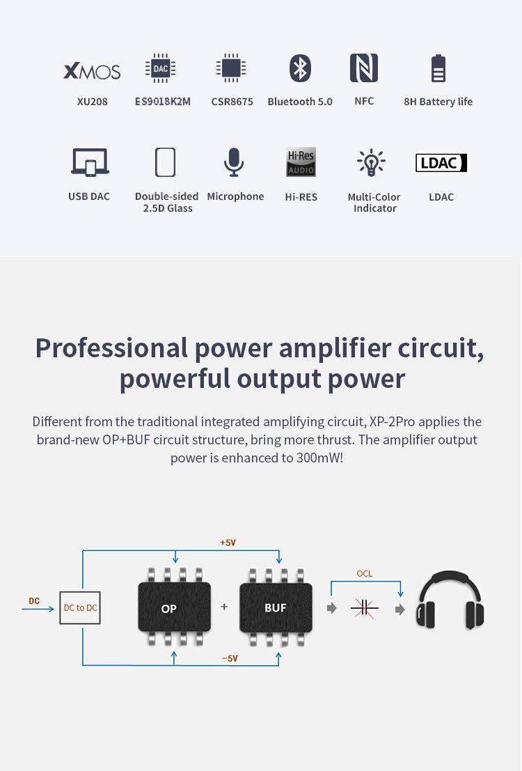 xp-2 pro detail page